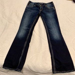 Silver bootcut jeans size 31/34